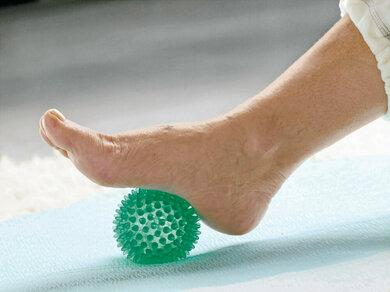 Fersensporngymnastik: Das Fußgewölbe kräftigen
