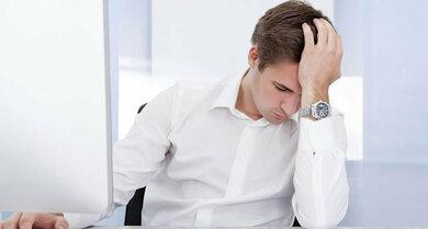 Müdigkeit am Tag kann auf eine Schlafstörung hinweisen