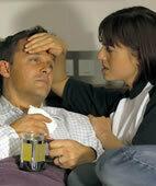 Grippe: Wenn das Fieber sinkt, steigt der Schweißpegel, auch nachts