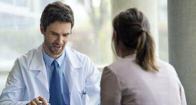 Burn-out? Das Gespräch zwischen Fachmann und Patient liefert Hinweise