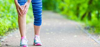 Knieschmerzen beim Joggen