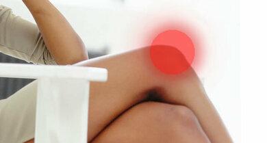 An den Knien machen sich viele Störungen fest, bis hin zur Psyche