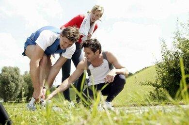 Viel Lauf- und Sprungsport in der Wachstumsphase: Das nimmt ein Gelenk wie das Knie manchmal übel