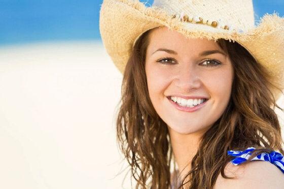 Hauttyp mit mittlerem Sonnenbrand-Risiko