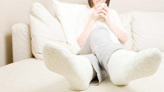 Warme Füße mit Socken