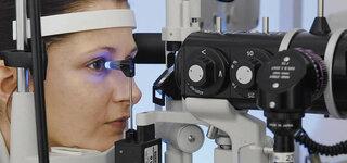 Messung des Augeninnendrucks