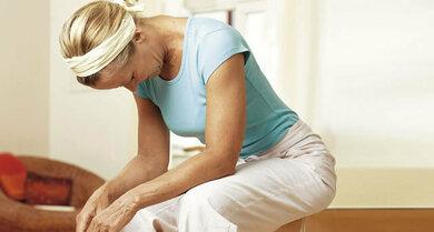 Bewährte Übung: Im Kutschersitz geht das Atmen leichter