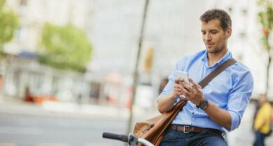 Nach einer Prostataentzündung sollte man anfangs mit dem Radfahren vorsichtig sein