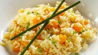 Reissalat mit Mandarine