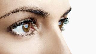 Gesunde, klare Augen