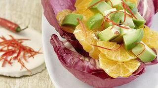Avocadosalat mit Chili