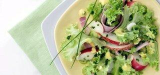 Fruchtig-süßer Lollo Bianco-Salat