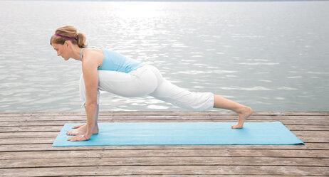 """Yogastellung """"einatmen"""""""