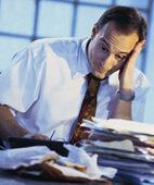 Stress bringt ins Schwitzen