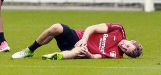 Fußball-Verletzung