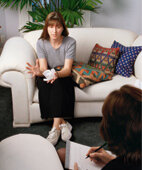 Es gibt viele Formen der Psychotherapie. Eine davon ist die Gesprächstherapie