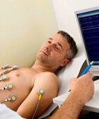 Aufzeichnung der Herzstromkurve (EKG)