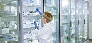 Chemikalien im Kühlschrank