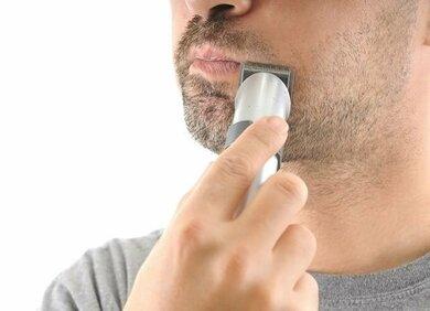 Auch der Bartwuchs wird durch Testosteron angeregt