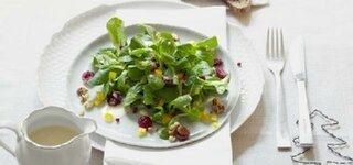 Feldsalat mit Cranberries
