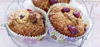 Apfel-Walnuss-Cranberry-Muffins