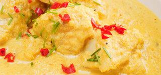 Fischcurry mit Blumenkohl