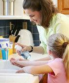 Hände waschen beugt Infektionen vor