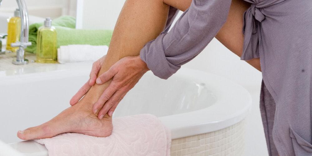 Löcher fußpilz Socken waschen
