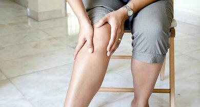 Das Knie steht bei Gelenkschmerzen an erster Stelle
