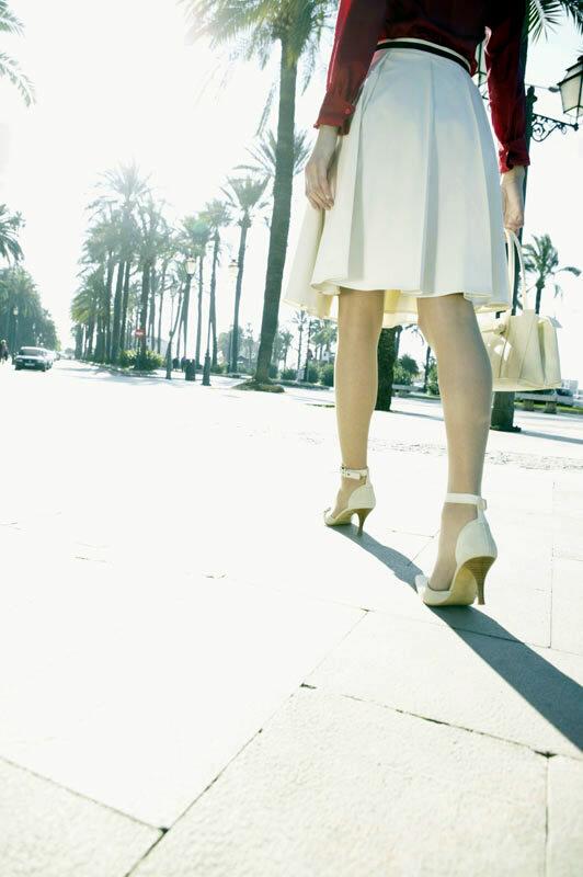 Ungesunde Mode - High Heels