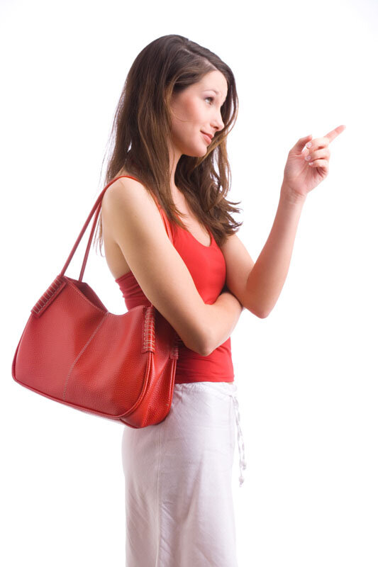 Ungesunde Mode - einseitig getragene Umhängetasche