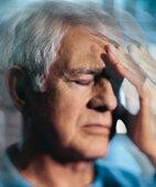 Wenn das Gehirn erkrankt: Verwirrte Sinne, dazu Kopfschmerzen, das sind manchmal Anzeichen