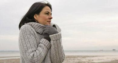 Wind und Kälte können die Haut austrocknen
