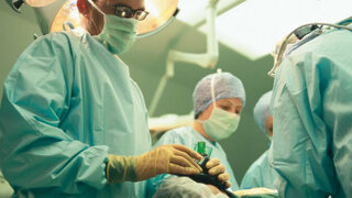 Narkose bei der Operation
