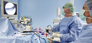 Knie Arthroskopie