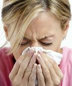 Schnupfen stört die Nasenatmung, und damit auch das Riechen
