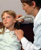 Tympanometrie bei einer jungen Patientin