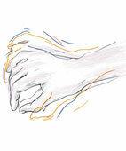 Zittern der Hände kann zum Beispiel bei Morbus Parkinson auftreten