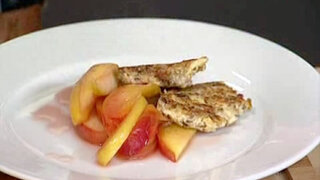 Obst mit Hafertalern