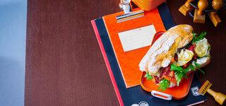 Antipasti-Sandwich