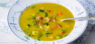 Kartoffel-Suppe mit Kasseler
