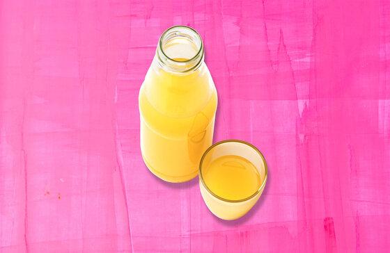Versteckter Zucker Fruchtsaft