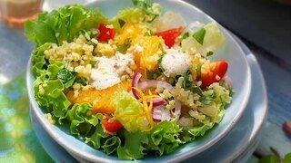 Bunter Bulgur-Salat