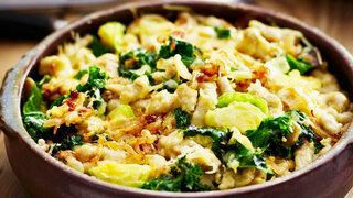 Buchweizenspätzle mit Gemüse