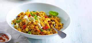 Quinoa-Kürbis-Risotto