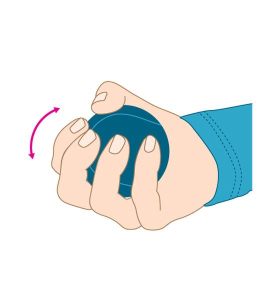 AU Training für starke Hände Kugel