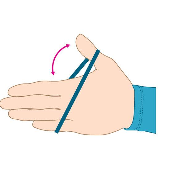 AU Training für starke Hände  Gummi