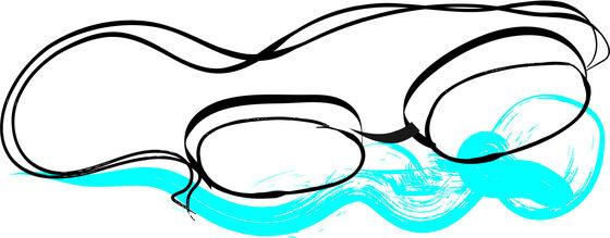 Illustration Taucherbrille