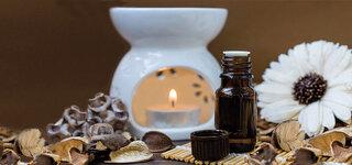 Duftlampe Aromatherapie