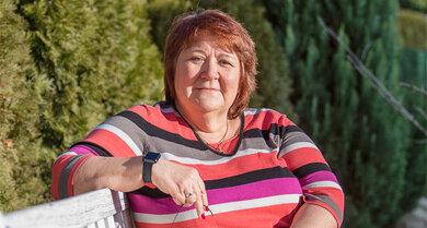 Barbara B. (62) hat Lungenkrebs überstanden. Doch die Krankheit spielt noch immer eine große Rolle in ihrem Leben